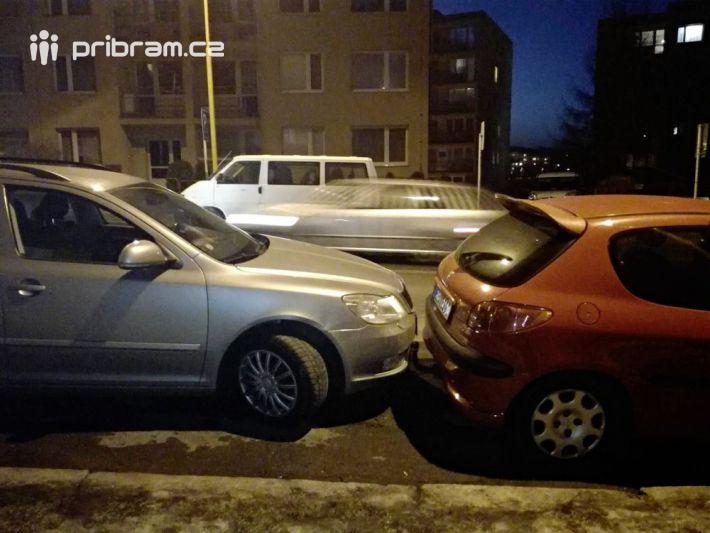 Že není parkování v Příbrami v blízkosti …