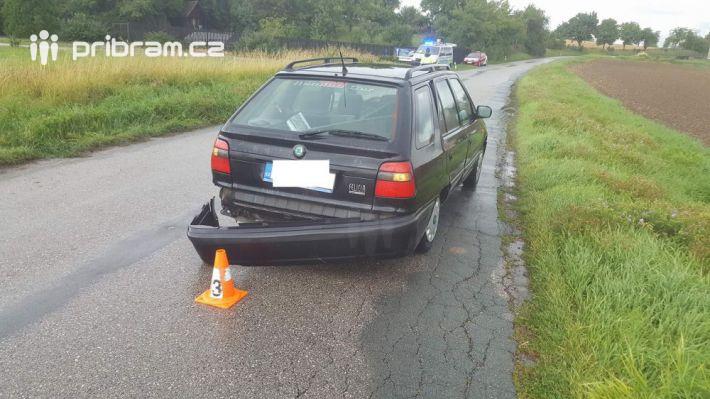 Na silnici174 u obce Březnice na Příbramsku …