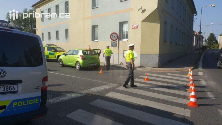 Před několika okamžiky došlo v Žežické ulici …