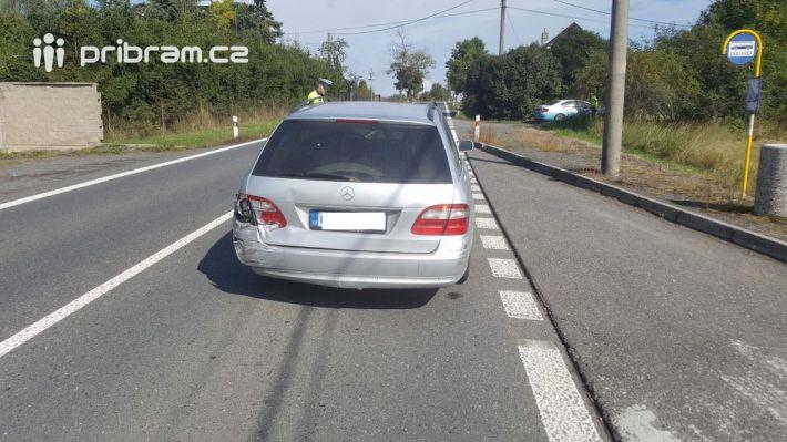 Na silnici 18 u obce Vranovice na Příbramsku …