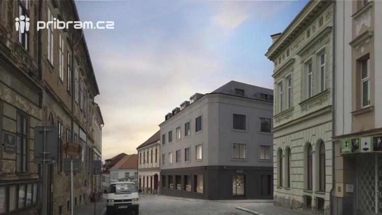 V Dlouhé ulici by mohl vyrůst nový dům. Je moderní, ale zapadne do okolí