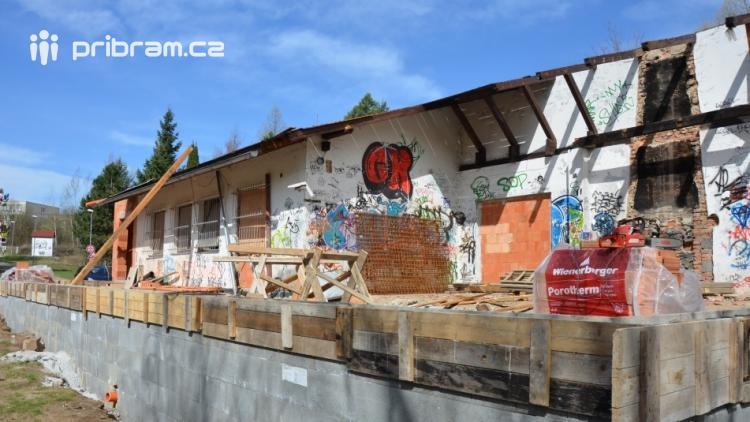 Rekonstrukce Junior klubu půjde do finiše. Kdo ho bude provozovat?
