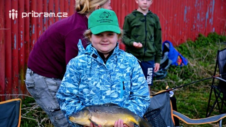 O víkendu zápolili v Rožmitále pod Třemšínem malí i velcí rybáři