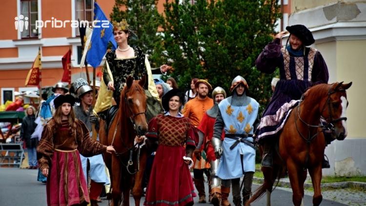 Rožmitál pod Třemšínem oslaví 560 let od korunovace královny Johanky