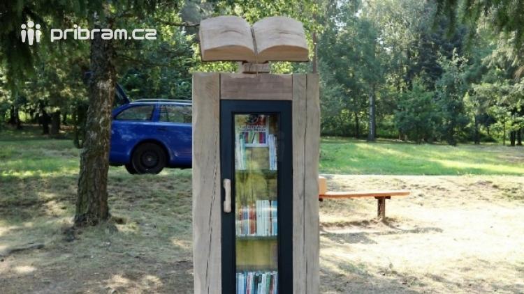 Na Nováku nyní najdete také stylovou KnihoBudku