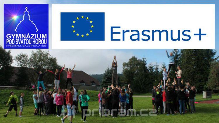 Nový mezinárodní projekt Erasmus+ na Gymnáziu pod Svatou Horou