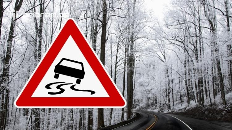 Řidiči pozor! Navečer se může začít vytvářet náledí, jezděte opatrně