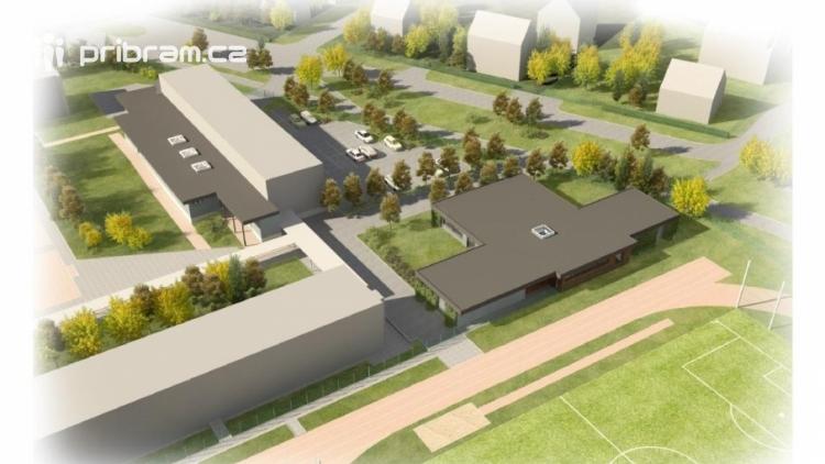 V Dobříši začala výstavba školního pavilonu pro 120 dětí