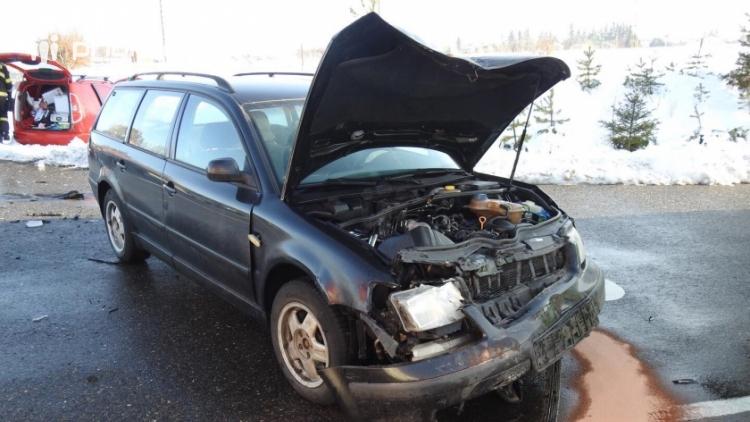 Aktuálně: Na výjezdu z Příbrami došlo ke střetu dvou aut