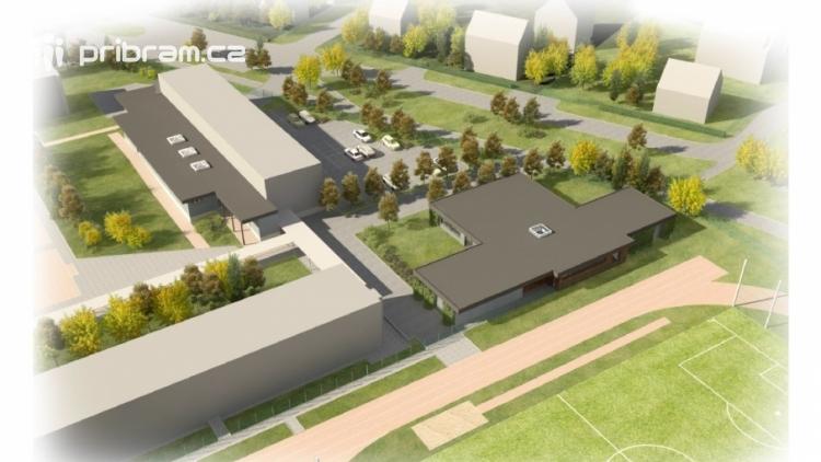 Dobříš vybuduje v areálu 2. základní školy venkovní učebnu