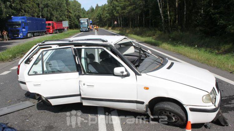 Prázdniny na silnicích: Vážná zranění během několika dní