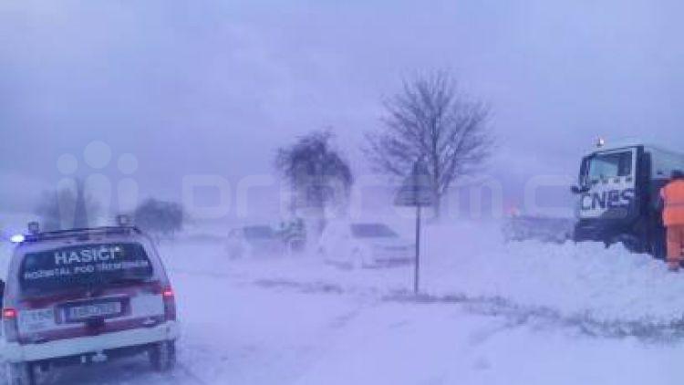 Silnice od Březnice na Hudčice je momentálně uzavřena