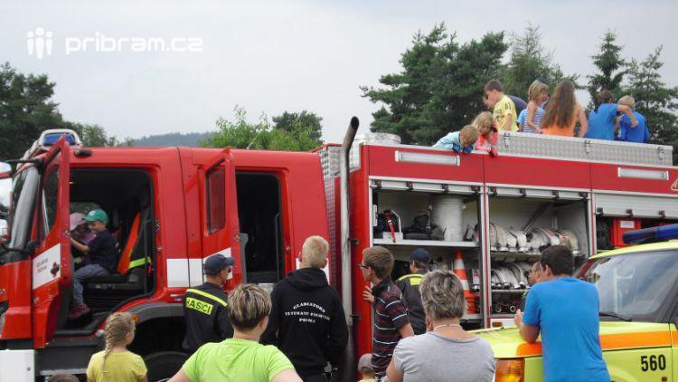 Svatý Florián otevře hasičské stanice pro veřejnost