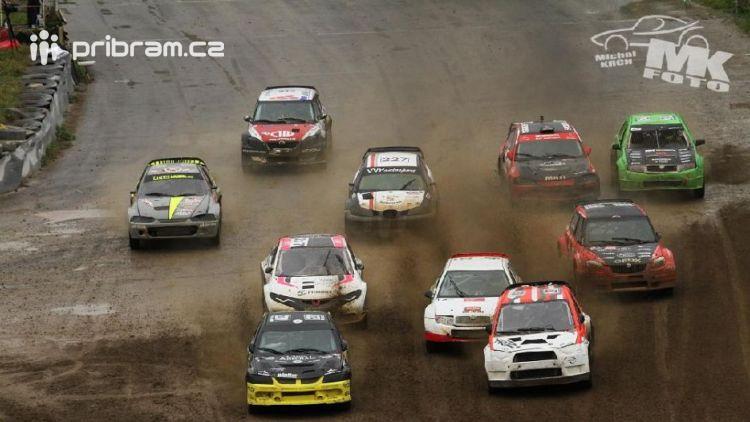 Mezinárodní mistrovství České republiky v autocrossu v Sedlčanech