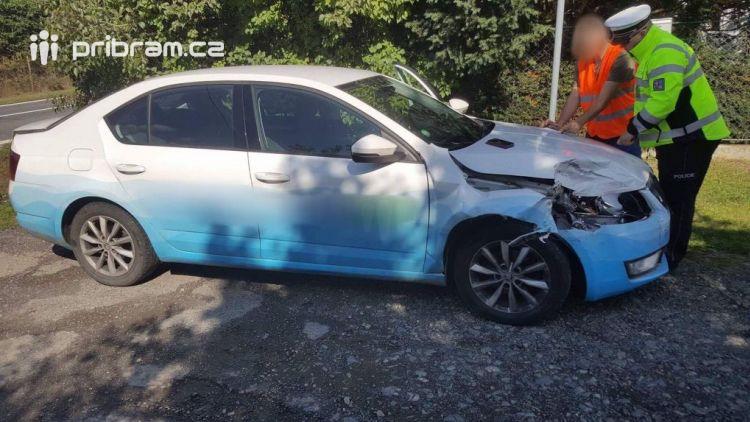 U Vranovic se srazily dva vozy