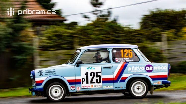 Michal Kotek a jeho tým získali na 38. SVK Rally Příbram 3. místo v kategorii Česká Trophy –  Rally pravidelnosti