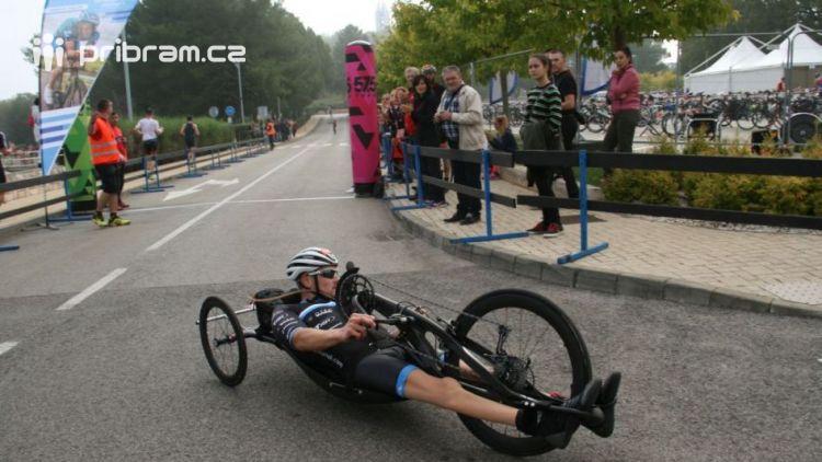 Dobříšský sportovec Honza Tománek se zúčastnil mezinárodního závodu Poreč Triatlon middle distance v Chorvatsku