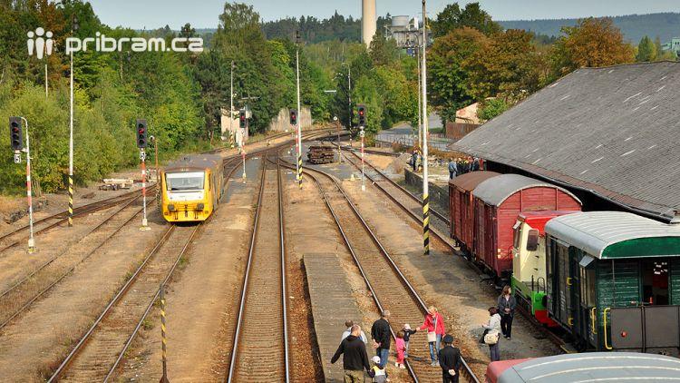 """V příštím roce začne jezdit nový turistický vlak """"Cyklo Brdy"""""""