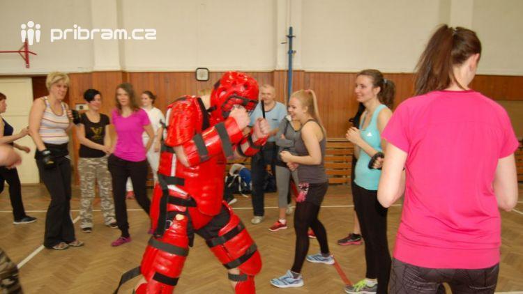 Město Příbram pořádá kurz sebeobrany pro ženy
