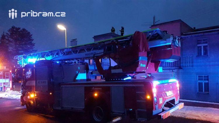 Právě teď: Tísňové volání povolalo hasiče z Příbrami