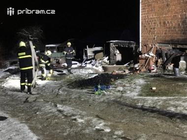 Aktuálně: Požár rodinného domu povolal hasiče