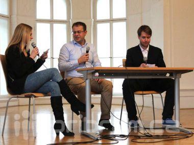 Studenti svatohorského gymnázia se opět setkali s Václavem Moravcem