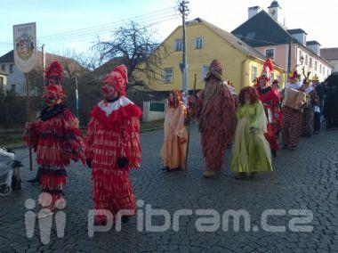 Na mnoha místech v Česku o víkendu vyšly masopustní průvody