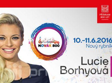 Předprodej vstupenek na Novák 800 zahájí Lucie Borhyová
