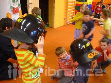 Policisté navštívili školku v Podlesí
