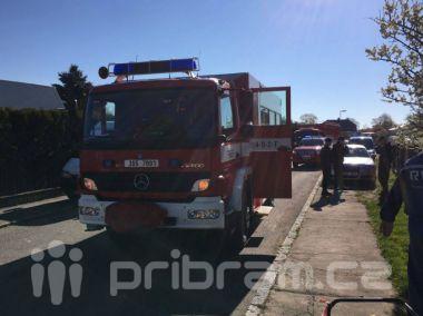 Hasiči řeší podezření na únik plynu ve Strakonické ulici