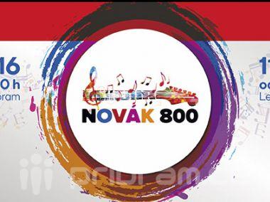 Tipovací soutěž: Vyhrajte dva lístky na festival Novák 800