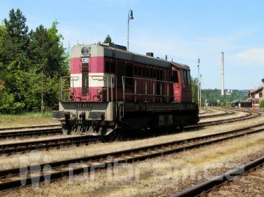 U Tochovic na Příbramsku srazil vlak člověka, na místě zemřel
