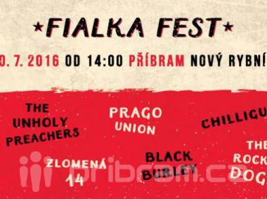 Fialka Fest již tuto sobotu. Těšit se můžete na přátelskou atmosféru i doprovodný program