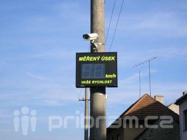 Úsekový radar do Rožmitálské dodá firma Gemos dopravní systémy