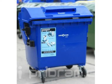 TS rozmístí  20 kontejnerů na větší formáty papíru, kde by měly být?