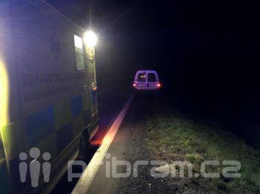 U obce Dubenec došlo ke střetu auta s chodcem