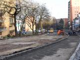 V Plzeňské ulici se pracuje na přípravě asfaltového povrchu. Křižovatka ul. Riegrova a Dvořákovo nábřeží se uzavře o týden dříve