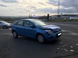 Pátek třináctého začal pro řidiče dopravní nehodou na příjezdu do města