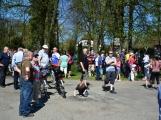 Z Vacíkova se vydali turisté již na 6. pochod na Petráškovu horu