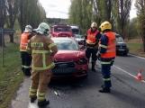 Aktuálně: Opatrně na Strakonické, dopravní nehoda pěti vozidel značně omezuje provoz