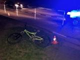 Opilý cyklista srazil opilou chodkyni