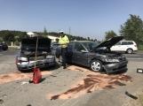 Aktuálně: Dopravní nehoda se zraněním komplikuje hlavní tah na Strakonice
