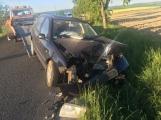 Druhá dopravní nehoda zaměstnává složky IZS