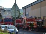 Aktuálně: Únik čpavku povolal hasiče na zimní stadion