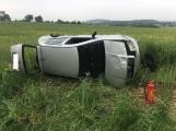 Aktuálně: Tři vážné dopravní nehody se zraněním zaměstnávají složky IZS