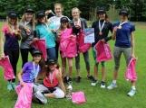 Mladší žákyně ze ZŠ Školní zvítězily v krajském kole atletického závodu Pohár rozhlasu 2018