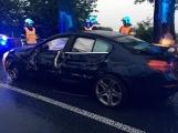 Právě teď: Dopravní kolaps na silnici I/4. Došlo zde k nehodě dvou osobních vozidel s nákladním