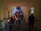 Svatá Hora za svitu svíček
