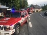 Aktuálně: Požár vozidla povolal hasiče