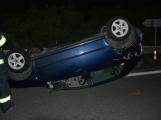 Hasiči a policisté měli dnes v noci na Příbramsku náročnou službu, zasahovali u dopravních nehod